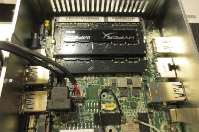 Komplett PC auf Basis von Intel NUC Kit NUC6i5SYH